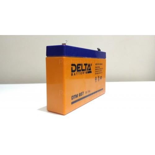 Аккумуляторная батарея Delta DTM 607 (6V / 7Ah)