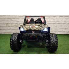 Детский электромобиль RiverToys BAGGY A707AA 4WD камуфляж
