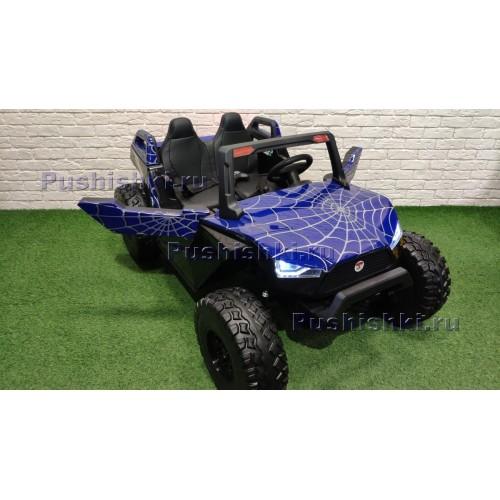 Детский электромобиль RiverToys BAGGY A707AA 4WD Spider с дистанционным управлением