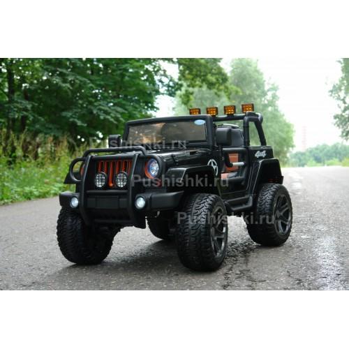 Детский электромобиль BARTY Jeep Wrangler T555MP полный привод