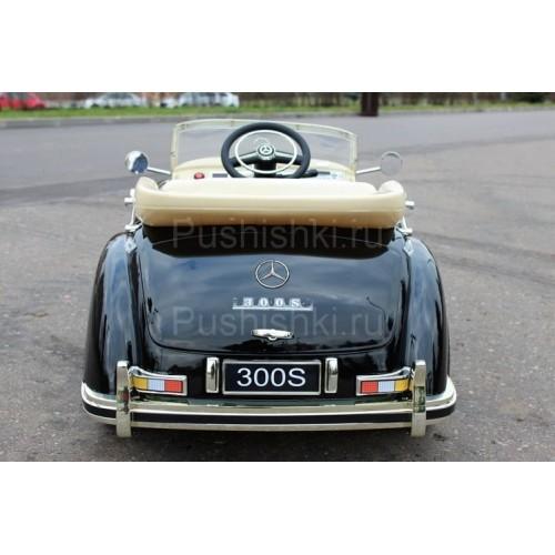 Детский электромобиль Barty Mercedes-Benz 300S Ретро