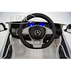 Детский электромобиль  Mercedes Benz S63 AMG  Белый