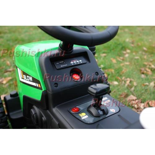 Детский электромобиль трактор с прицепом BARTY TR 77