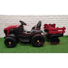 Детский трактор электромобиль с прицепом BARTY TR 777