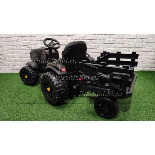 Детский электромобиль Bettyma трактор с прицепом 2WD 12V - BDM0925