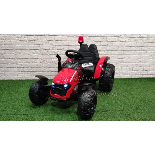 Детский трактор электромобиль с прицепом BARTY TR 99