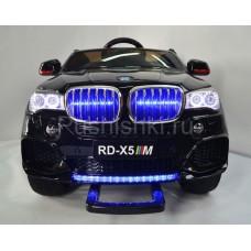 Детский электромобиль Kids Cars BMW X5 Style KT0500 с кожаным сиденьем