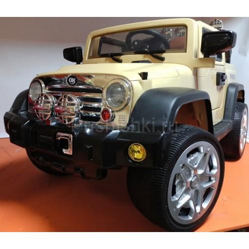 Детский электромобиль Kids Cars J235 с кожаным сиденьем