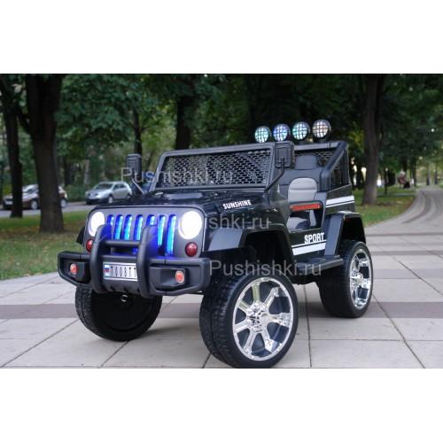 Детский электромобиль RiverToys Jeep T008TT  полный привод