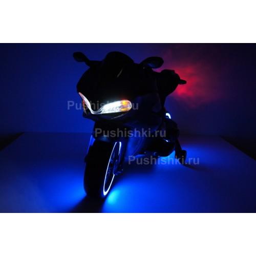Детский электромобиль - мотоцикл Rivertoys A001AA