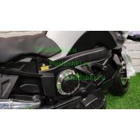 Детский электромотоцикл RiverToys MOTO E222KX с дымом