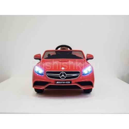 Детский электромобиль  Mercedes Benz S63 AMG
