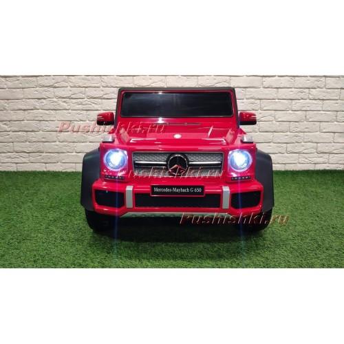 Детский  электромобиль Mercedes-Maybach G650 T101TT 4WD