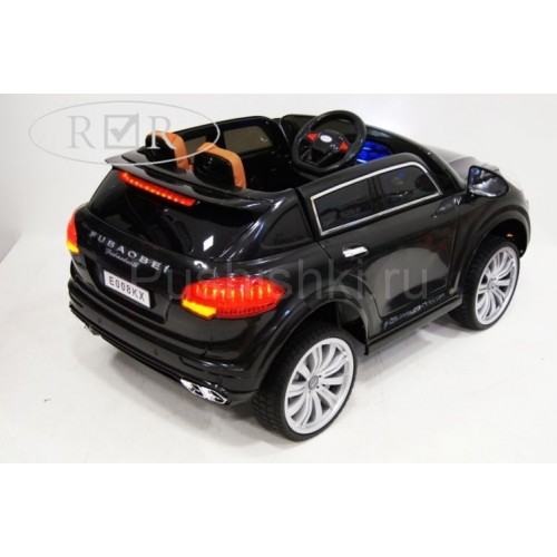 Детский электромобиль Porsche E008KX на резиновых колесах