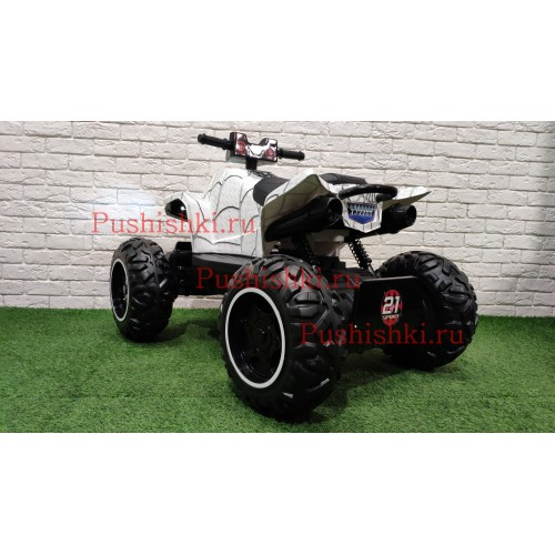 Детский квадроцикл  RiverToys T777TT 4WD - SPIDER, CAMOUFLAGE