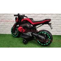 Детский электромотоцикл RiverToys X111XX со светящимися колесами