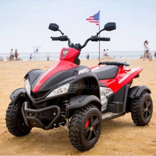 Детский спортивный электроквадроцикл Dongma ATV 12V - DMD-268A