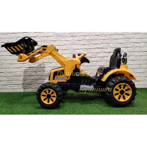 Детский электромобиль трактор на аккумуляторе 12V - JS328A-Y