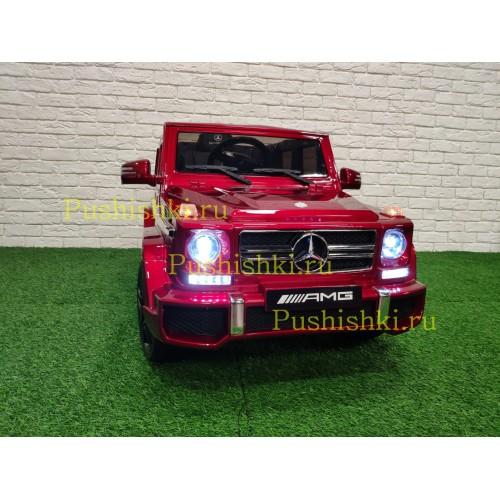 Детский электромобиль Mercedes Benz G63 LUXURY 2.4G HL168-LU