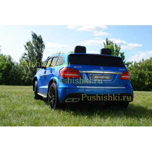 Детский электромобиль Mercedes Benz GLS63 MP4  LUXURY 4x4  2.4G - HL228-LUX (с монитором)